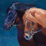 Original Oil Painting by Shirley Lehner-Rhoades.